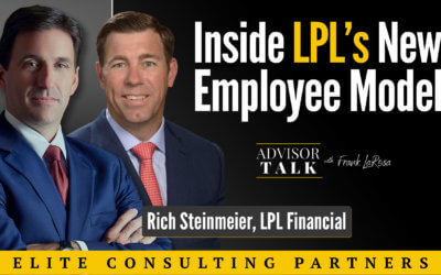Ep.50: Behind the Scenes with Rich Steinmeier and LPL's new EMPLOYEE MODEL