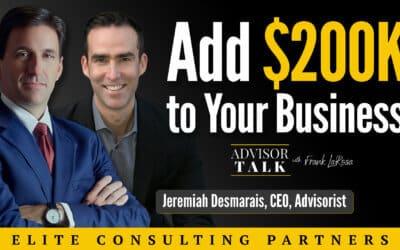 Ep.62: Lead-Gen Lessons with Jeremiah Desmarais, CEO – Advisorist